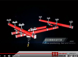 Light Flexible Combined Suspension Crane