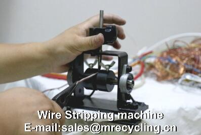 manual copper wire stripping machine