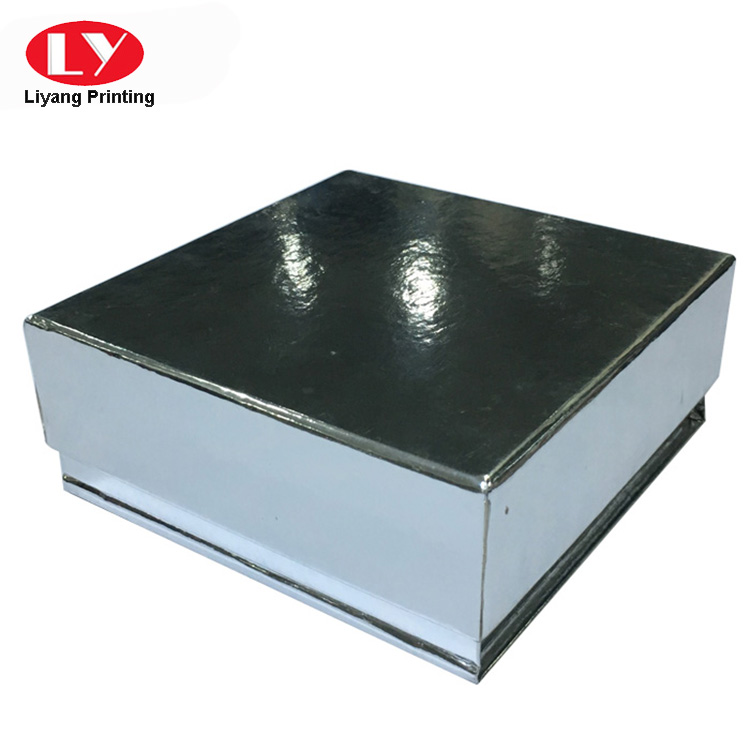 foldable top and bottom box