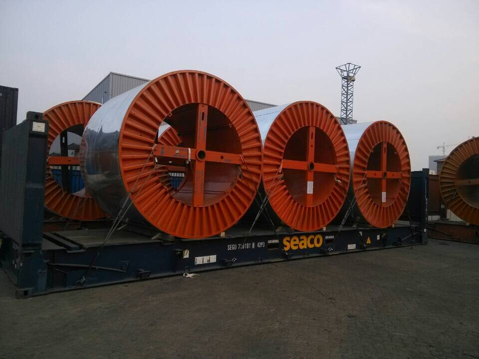 110KV UNDERGROUND CABLE READY FOR SHIPMENT