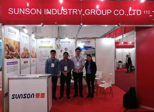 Sunson in Food Ingredients South America 2017