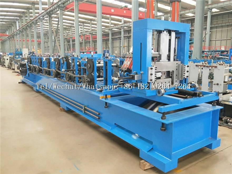 Automatic Multi Size Quickly Interchange C Z  Purlin Machine
