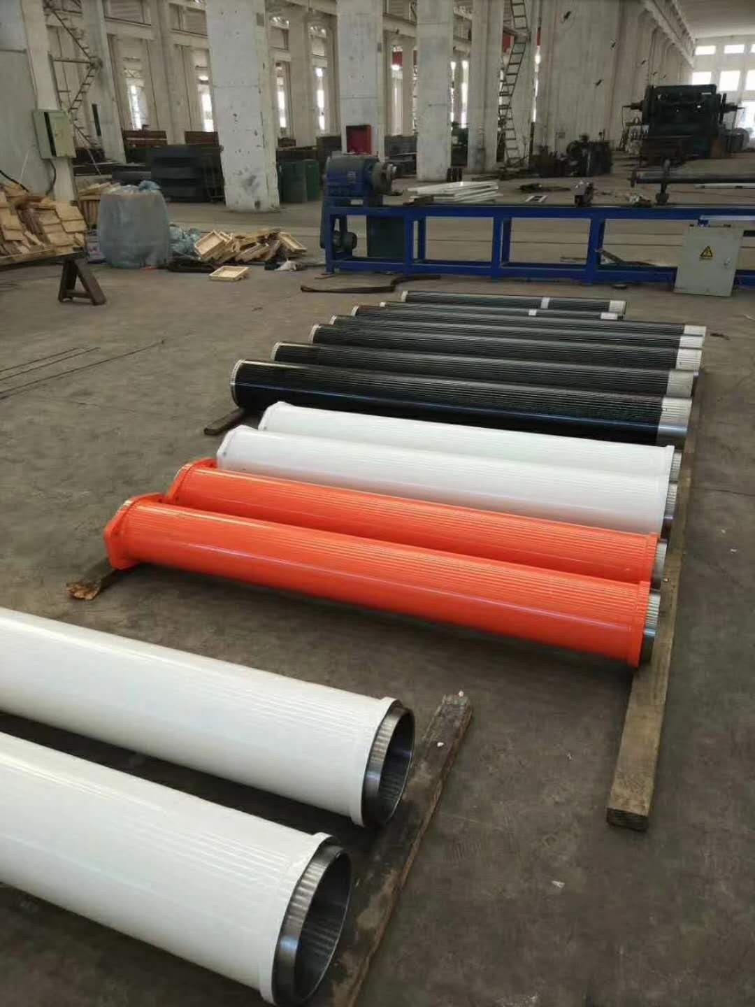 concrete pump delivery cylinder producing