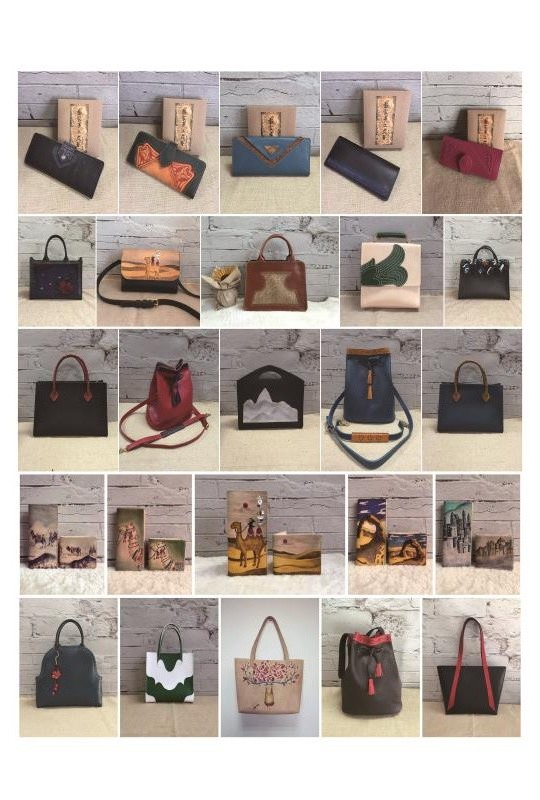 Hand-made leather bags