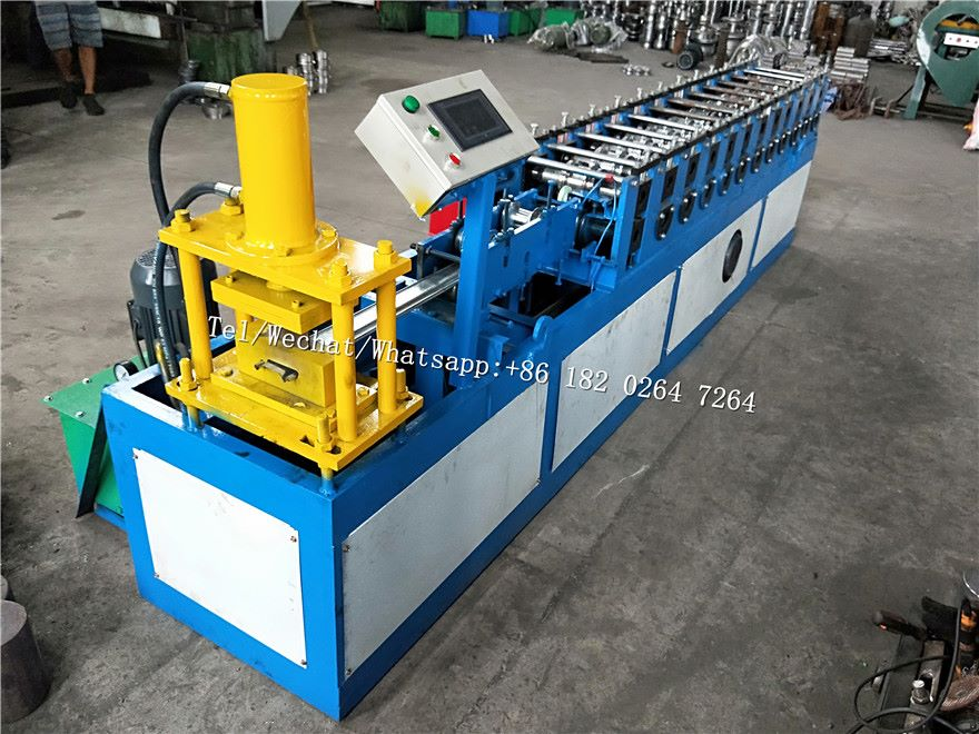 Steel Garage Door Strip Rolling Shutter Machine
