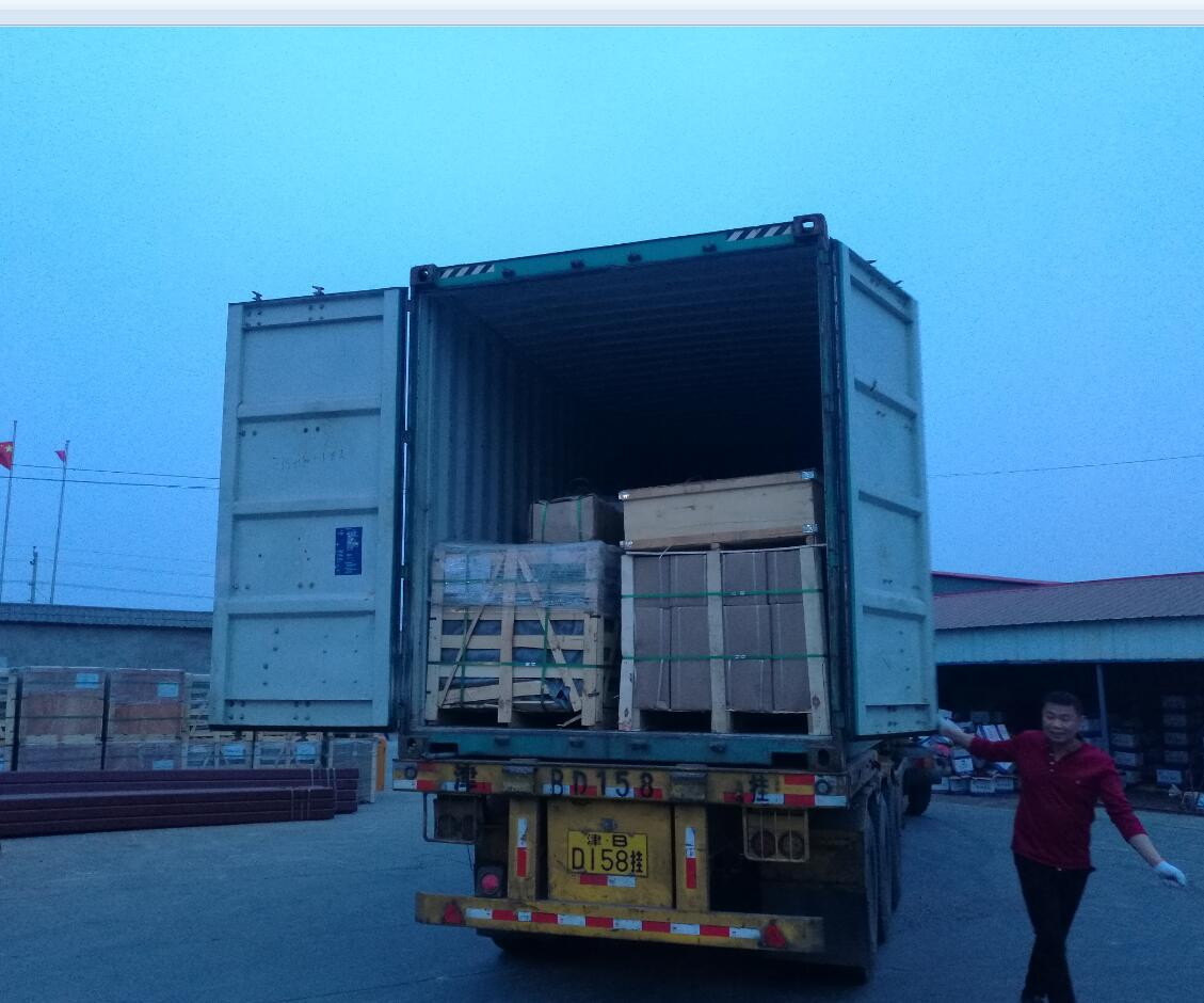 concrete pump seamless pipe loading container