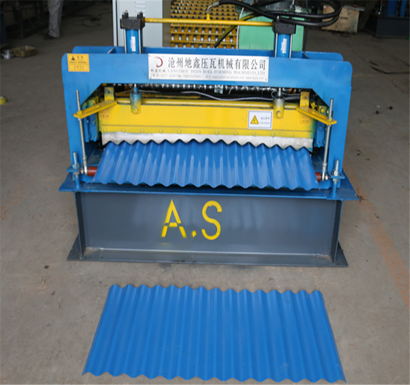 Factory direct Corrugated roll forming machine