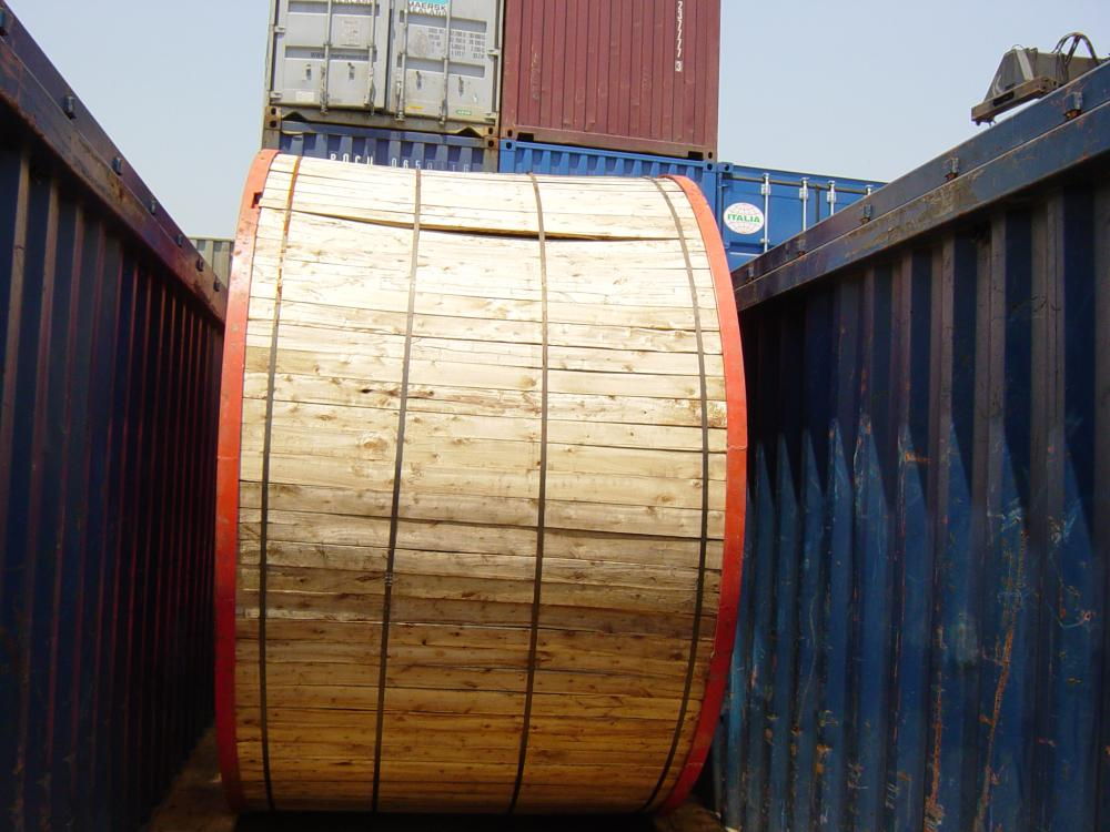 15KV XLPE insulated Underground cable ready for shipment