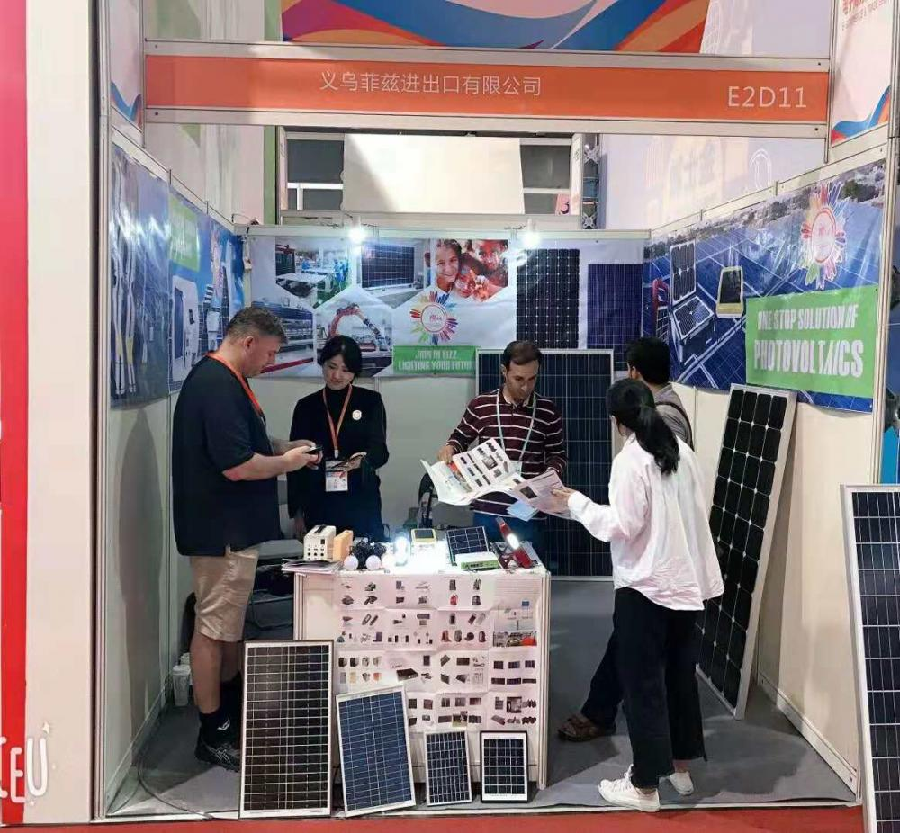 Fizz Global  takes part in the 24th China yiwu international fair