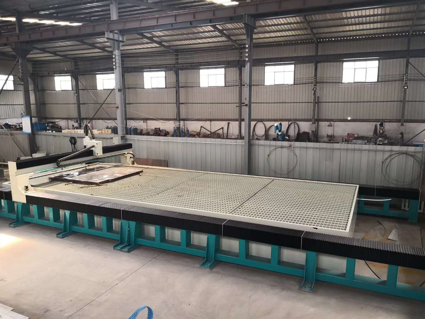 WMT40100-AL big size water jet cutting machine for steel plate