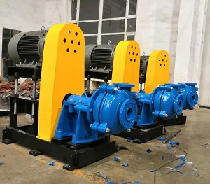 Metal Lined Slurry Pumps ready for New Home