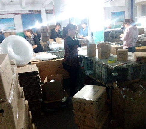 Glassware Production-Packing