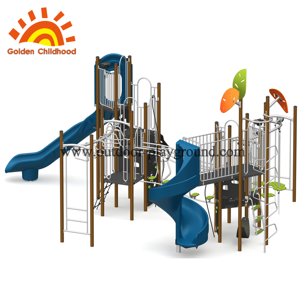 customized outdoor playground
