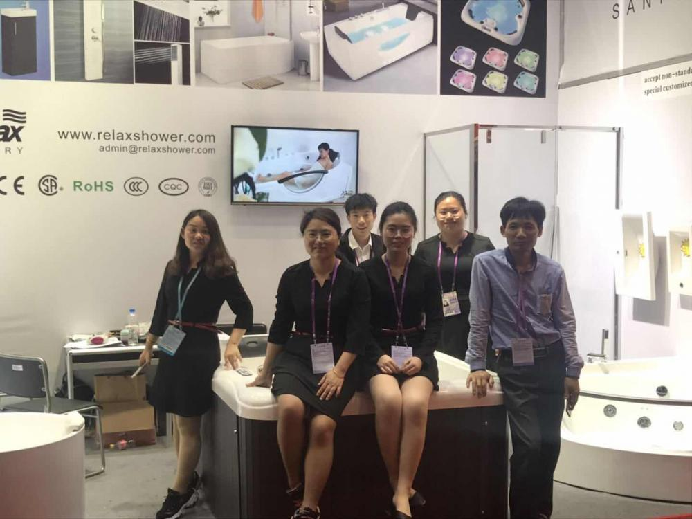 Team on Canton fair