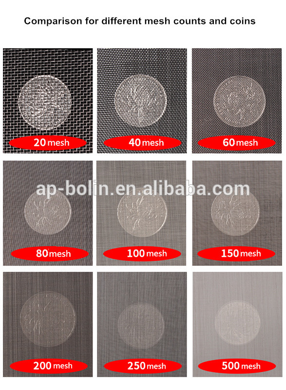 stainless steel dutch weave wire mesh screen