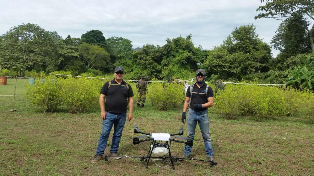 10L Sprayer Drone Customer show