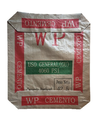 40kg Block Bottom Valve Cement Bag