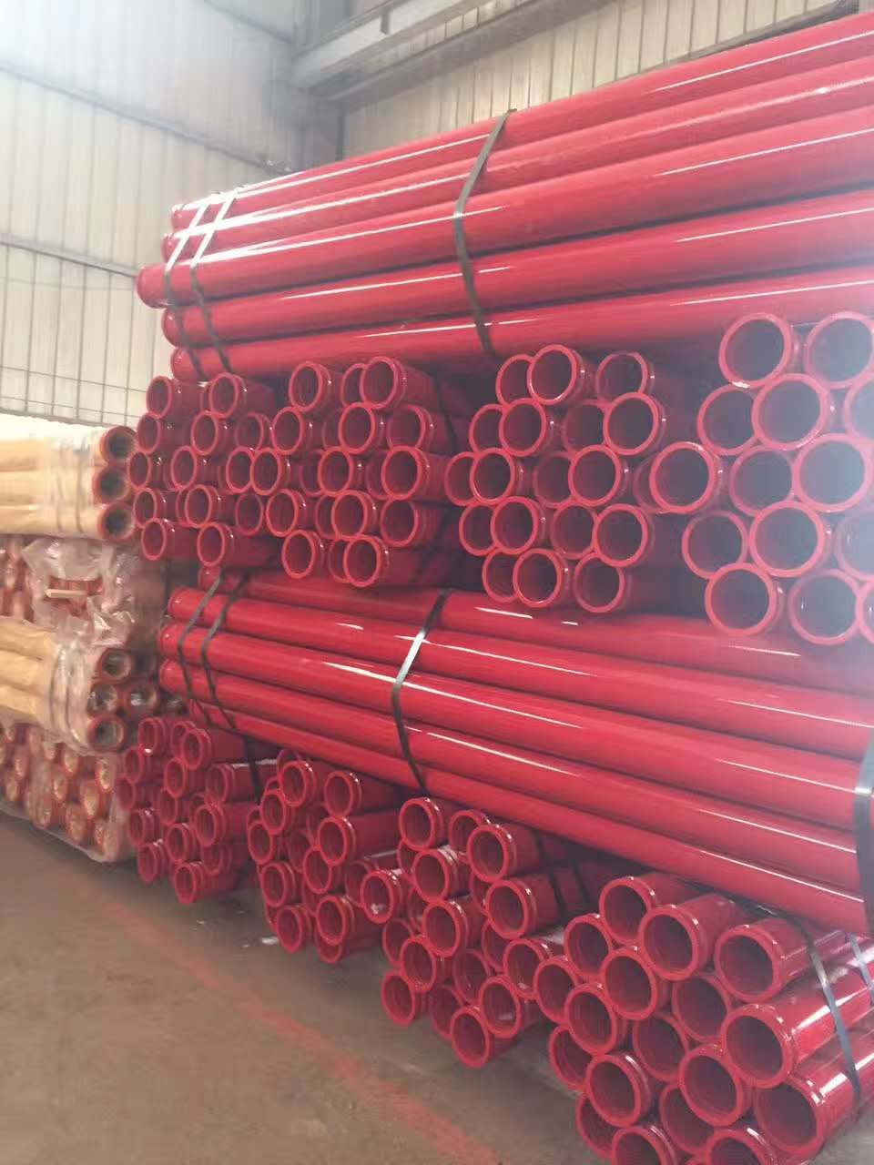 concrete pump pipe and elbow painting