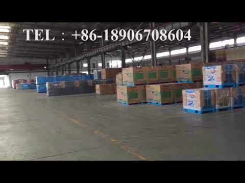 Hongwuhuan electric screw air compressors stocking in the warehouse