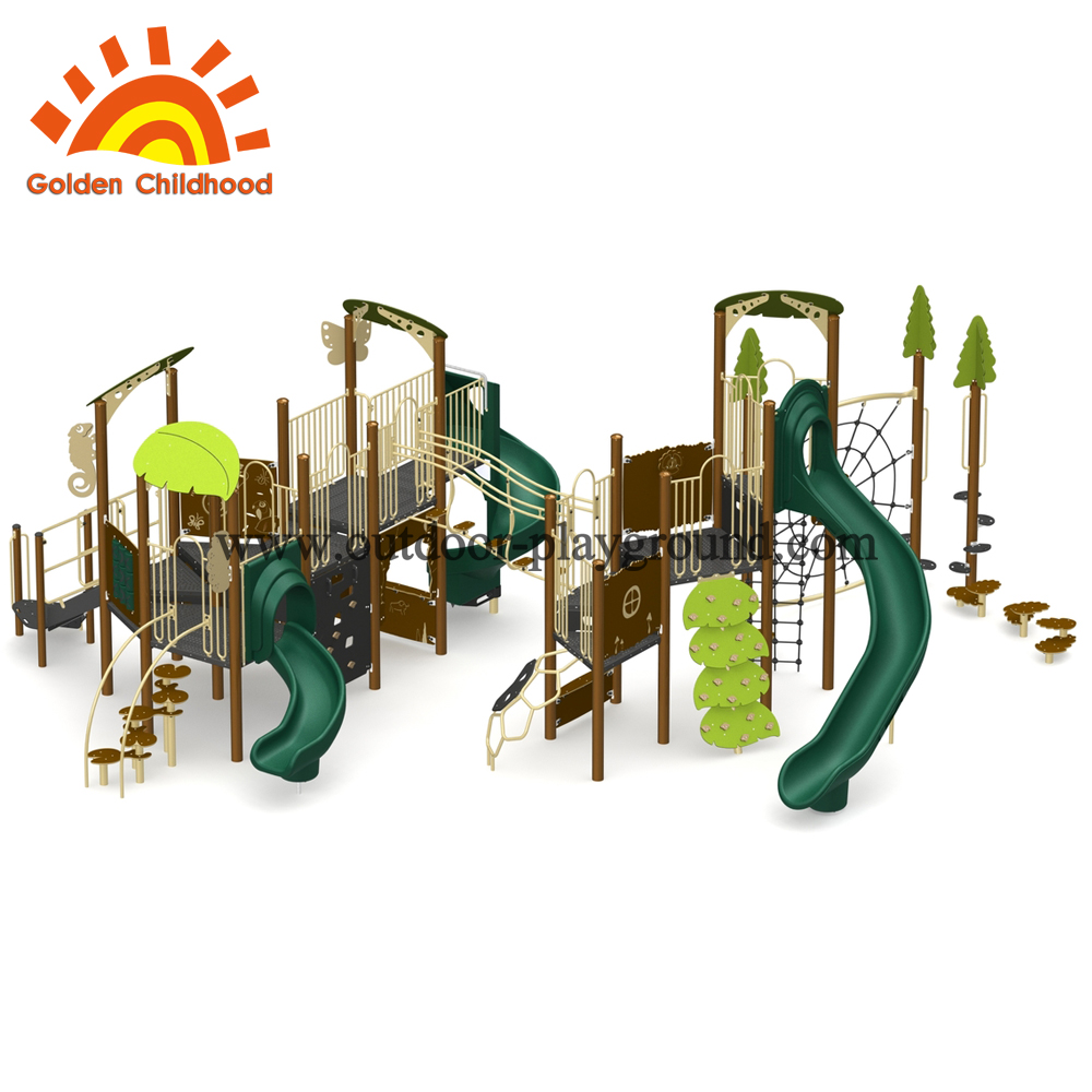 outdoor play structure equipment