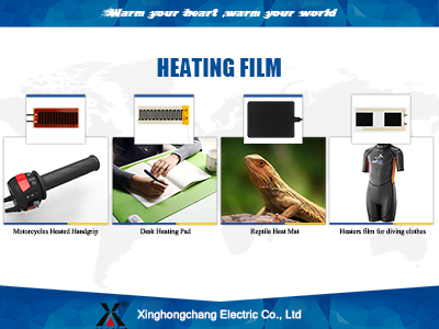 Hand grip heat film production