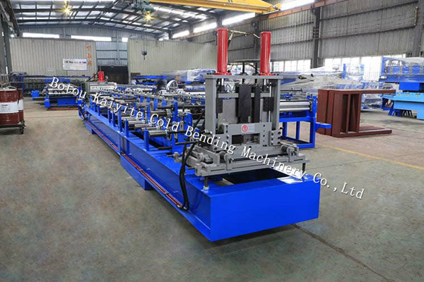 Automatic C/Z Interchangeable Purlin Roll Forming Machine