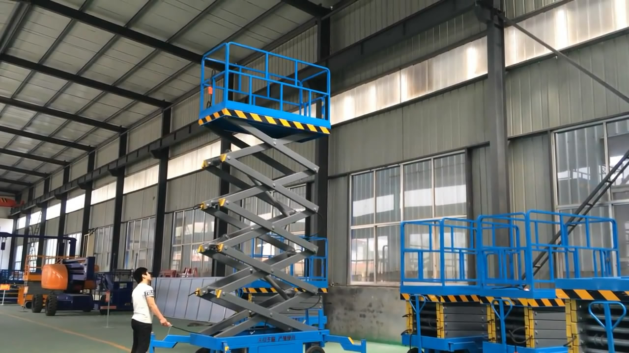 Mobile Aerial Man lifts