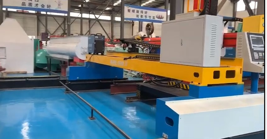 Heavy cnc plasma flame cnc cutting machine for stainless steel