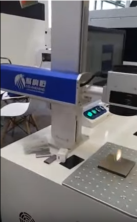 Mopa Laser Marking Machine for PCB board, metal, plastic, AL material QR code