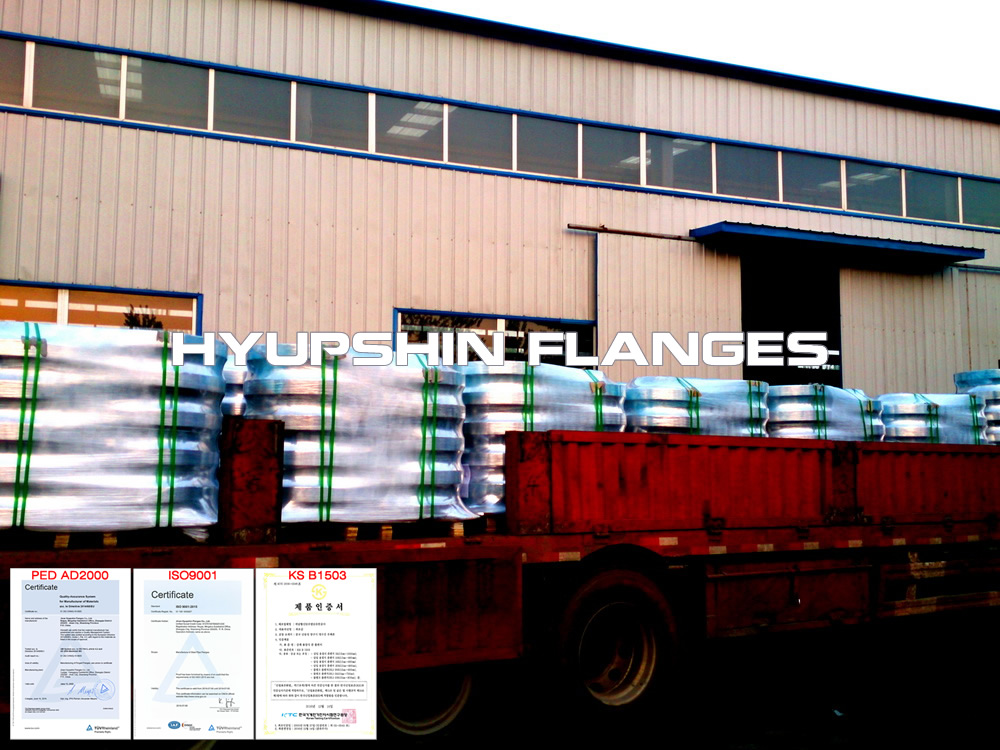 Flanges Delivery