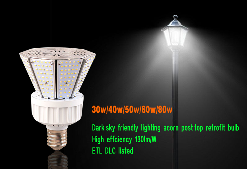 What is LED Post Top Retrofit Corn Light?