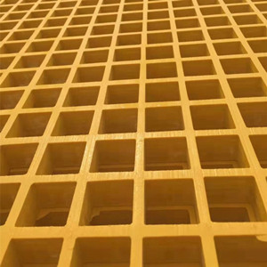 Yellow Fiberglass Grating for Loft