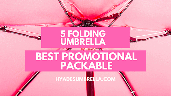 Best Promotional Packable 5 Folding Umbrella