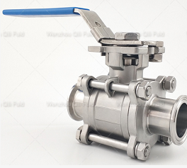 Stainless Steel Sanitary Ball valves with tri clamp