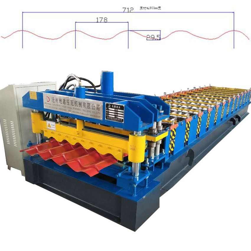 Roof Tile Machine Glazed Tile Roll Forming Machine metal roll forming machine