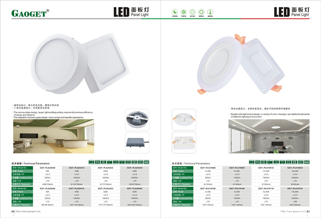 LED Round Recessed Ceiling Downlight Fixture