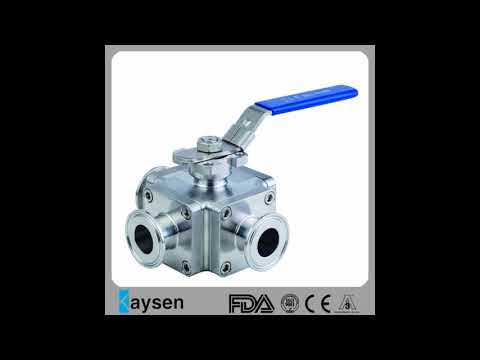 Sanitary ball valve stainless steel
