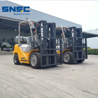 Iran 3 5ton LPG forklift from SNSC