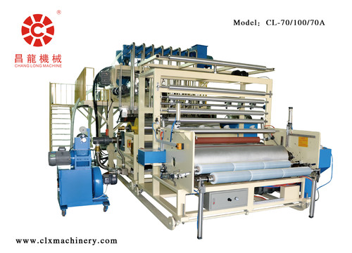Machinery Rolls Wrapping Film Stretch Making Machine Model CL-70/100/70A