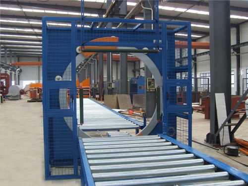 Horizontal stretch wrapping machine (Sinolion Machinery)