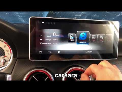 10.25 big touch screen Android display for Mercedes GLA CLA A Class onwers