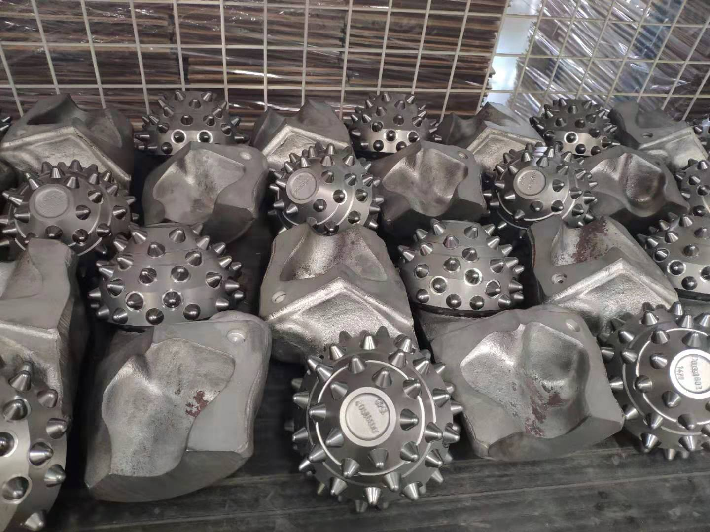 High-quality drill bits are in production