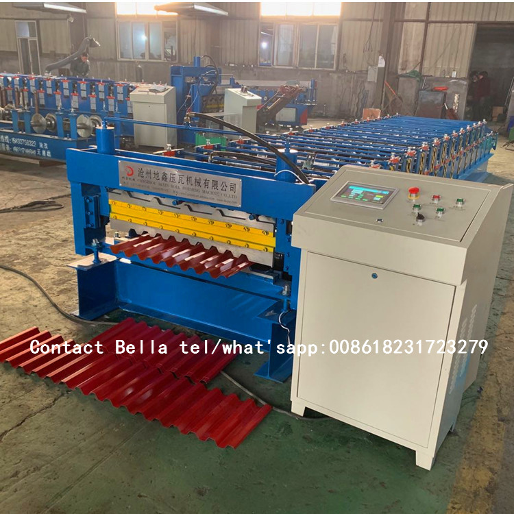 roof tiles machine