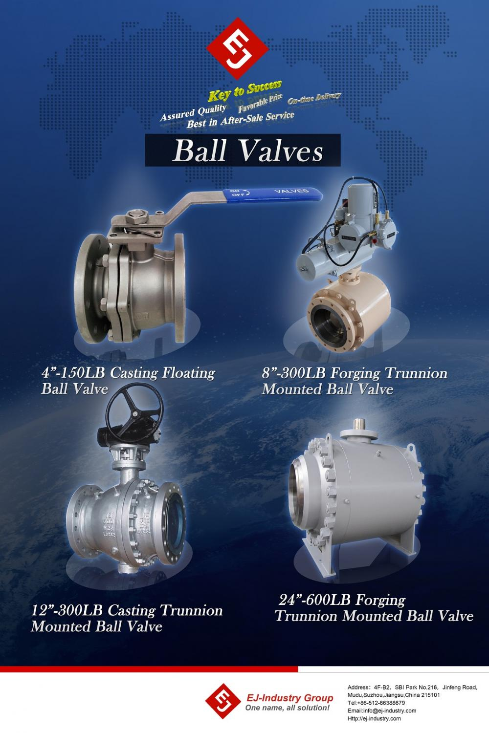 Ball vavle products