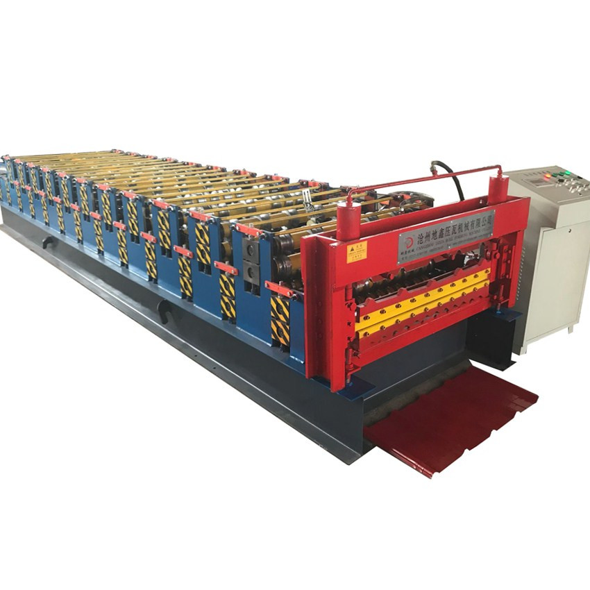 Double Layer Types Profiles Metal Roof Wall Panel Roll Forming Machine
