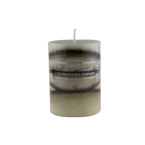 wedding pillar candle