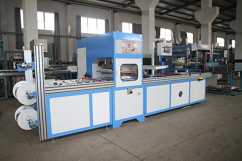 Automatic high frequency welding machine for pvc bag