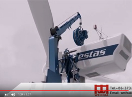 Self-Climbing Crane for Wind Power Generator Maintenance