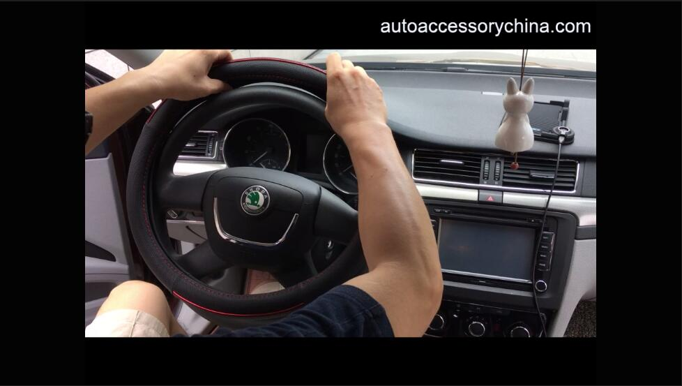 How to install steering wheel cover BestWay