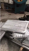 Perforated Metal Mesh Safety Grating
